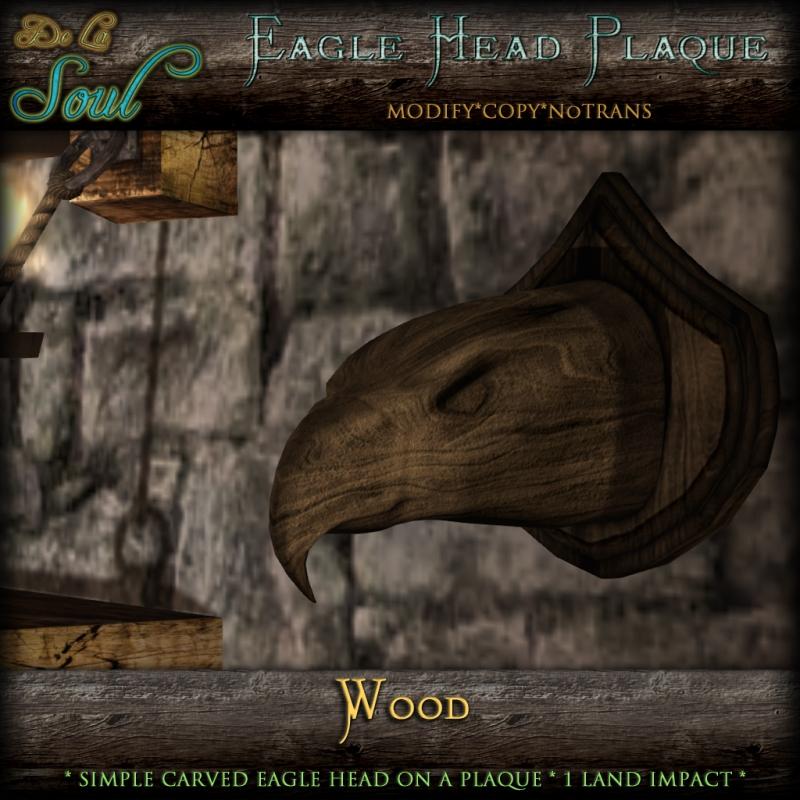 2013 EaglePlaque - Wood
