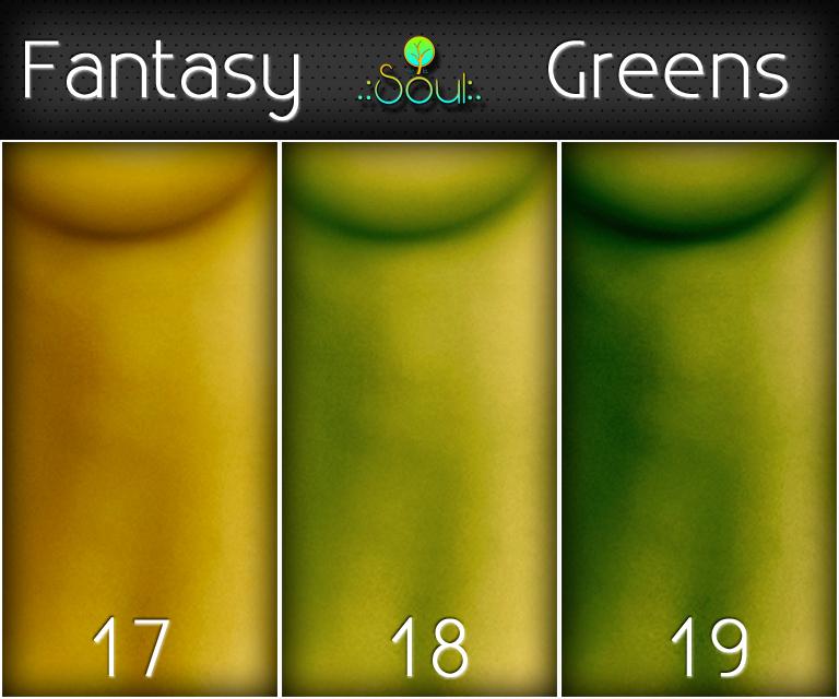 2014 Skintones Fantasy Greens