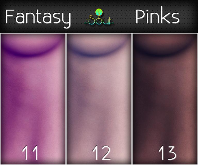 2014 Skintones Fantasy Pinks