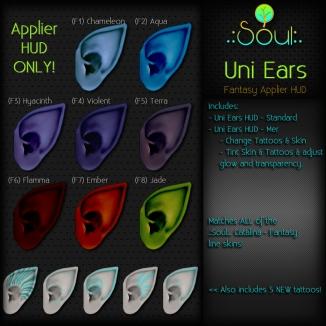 2015 Uni Ears - Fantasy Applier HUDS