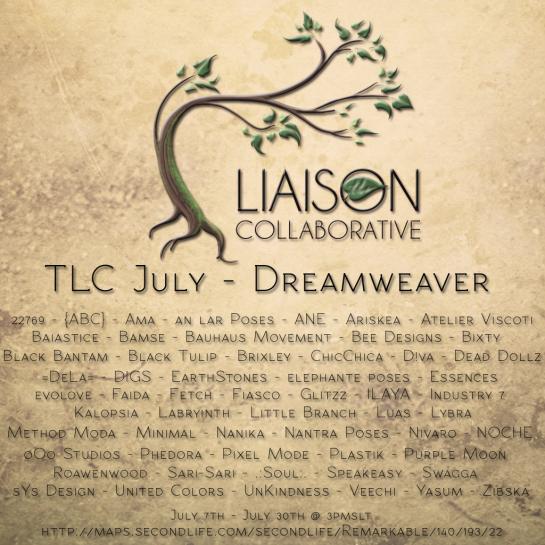 The Liaison Collaborative - July - Dreamweaver