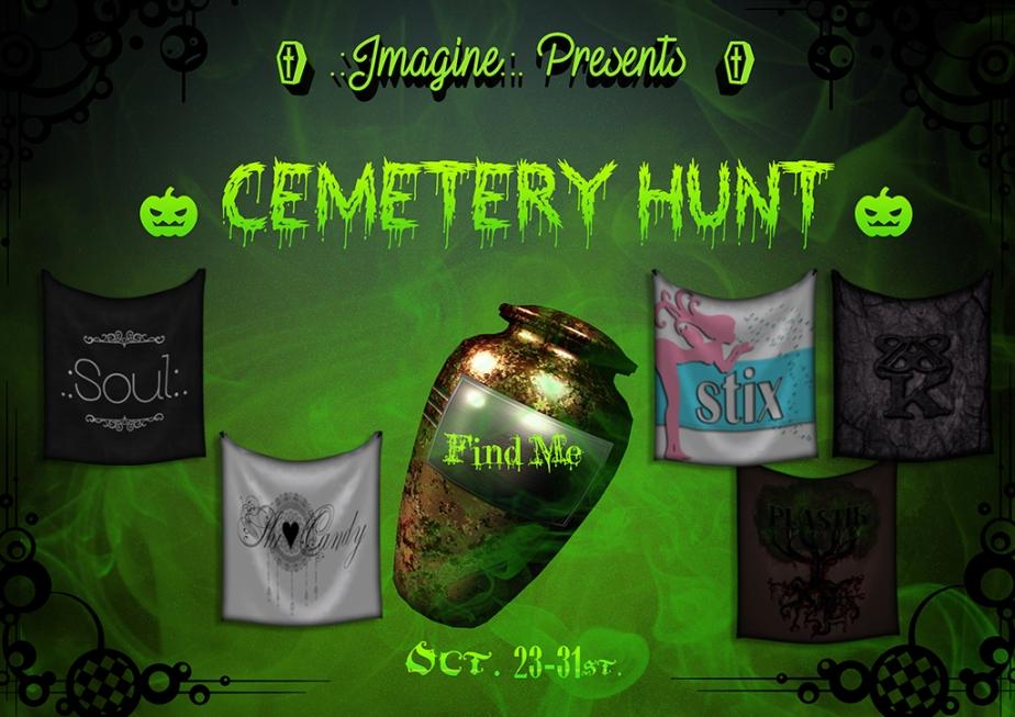 .: Imagine :. Events Presents the CemeteryHunt!