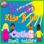 MD_MD Kids R us Cuties logo SQUARE